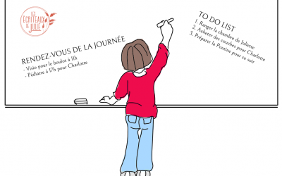 S'organiser quotidiennement à la maison – Templates gratuits à imprimer
