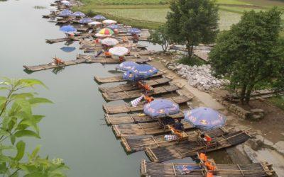 Yangshuo, sur les berges de la rivière Li
